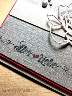Kunst:Stück: alles Liebe ...