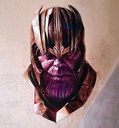 Marvel Comics, Thanos Marvel, Marvel Art, Marvel Heroes, Marvel Avengers, Comic Villains, Marvel Characters, Marvel Tattoos, Marvel Images