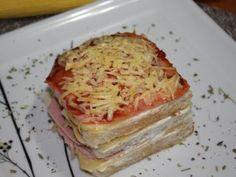 Receita de Kinduíche - Sanduíche de Forno - Tudo Gostoso