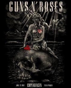 Guns N' Roses Copenhagen