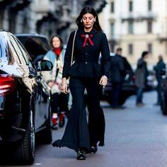 street style fashion week 2017 milan giovanna battaglia engelbert gucci