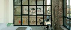 The Wythe Hotel in Brooklyn, NY - an Authentic hotel from a renovated factory.  rooms starting at $179