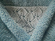 Leaf Panel Knitting Pattern : CaraLouiseReitbauer, from Caras Handcrafted Crocheted ...