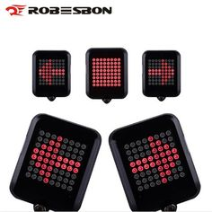 de Bicycle Intelligent Turn Taillight Signal Light Brake Light Projection Lamp 64 LED Infrared Warning Light Accessories for just Road Bike Accessories, Accessories Online, Light Font, Online Bike, Turn Light, Led Tail Lights, Bicycle Lights, Pink Art, Luz Led