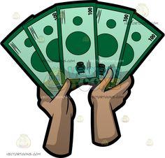 bundles of us dollar money bills cartoon third and graffiti rh pinterest com 100 dollar bill vector art