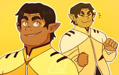 """notllorstel: """"One time I saw Altean Prince!Hunk art and it was so beautiful I started crying """""""