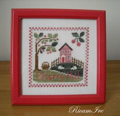 Cherry Hill, Country Cottage Needleworks
