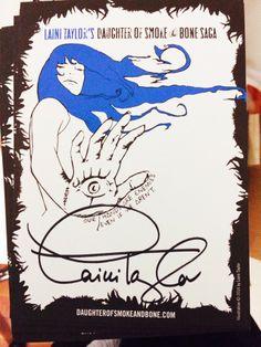 Karou Drawing by Laini Taylor