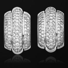 White gold Diamond Earrings G38P6800 - Piaget Luxury Jewelry Online