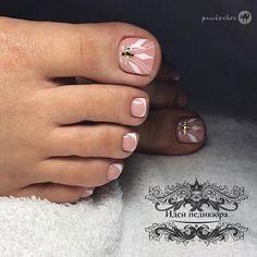 Cute Toe Nails, Cute Toes, Toe Nail Art, Pedicure Designs, Toe Nail Designs, Nail Tutorials, Girly Things, Finger, Polish
