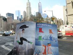 #Elvetik #rain #boots on tour at big apple. #shoes #footwear #design #fashion #rainboots #wellies #CityBoots