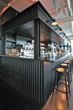 Quindici by Laurent Vialle & Houot Agencement #design #bar