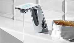 Wash basin faucet Il Bagno Alessi Sense by Oras. Design: Rodrigo Torres