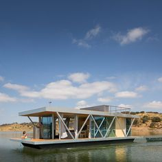 Prefab housing 'Friday' transported by water for sale