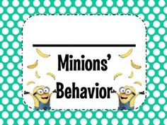 You have your class rules set and now you need a way for the Minions.I mean students.to manage their behavior. Minion Classroom, Minion Mayhem, Minion Theme, Behavior Clip Charts, Parent Contact, Class Rules, Teaching Kindergarten, Teacher Newsletter, Classroom Management