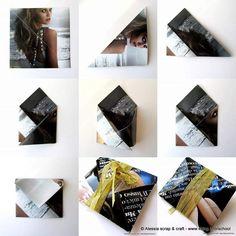 Eco Packaging: altra bustina origami velocissima (clicca per ingrandire)