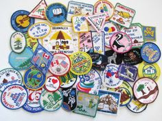 40 Vintage Girl Guide Girl Scout Leader Badges by UppNorthEh