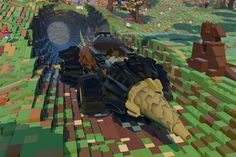 LEGO Launches 'Minecraft' Competitor 'LEGO Worlds' Beta