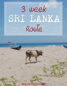 3 Week Sri Lanka Route