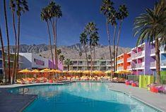 The Saguaro Hotel, Palm Springs, Califórnia, EUA.