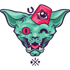 Sticker by I . D .  V ., via Behance