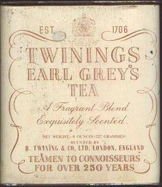 Tea. Earl Grey