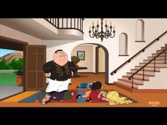 Family Guy Peter Griffin in a spanish soap opera