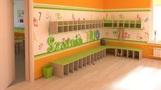 Schön kindergarten garderoben