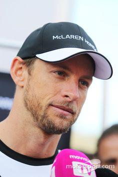 Jenson Button Press Talking ahead of the 2015 #F1 Spanish Grand Prix