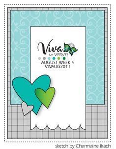 **Viva La Verve! August 2011 Week 4 {8-19-11}**: Verve Stamps - Splitcoaststampers