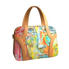 Andrea #design arts2be #handbag with Marie-Christine Thiercelin #artist