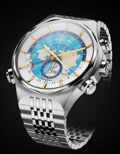 TimeZone : Industry News » N E W M o d e l - Edox Geoscope