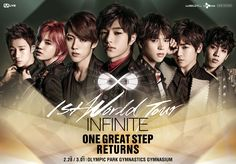 infinite one great step poster - Google Search