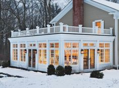 great size sunroom