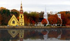 Canada - Nova Scotia - Mahone Bay