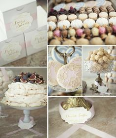 DIY Sweets table tutorial, as seen in Heirloom Magazine. Including FREE labels download + Pavlova Cake Recipe!  | Kailey Michelle Events Blog | Vancouver Wedding Planner #vintage #sweetsbar #dessert #wedding #cake