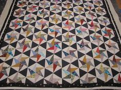 twirling triangles quilt
