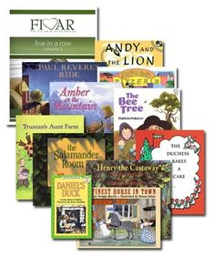 Five in a Row Volume 3 Story Book Bundle with Five In A Row, The Row, Paul Revere's Ride, The Castaway, Foreign Words, Background Information, Kids Story Books, Hands On Learning, Science Lessons