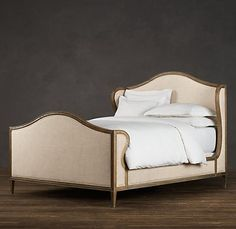 Grenoble Wing Bed (Kind of masculine, but I'm into it.)