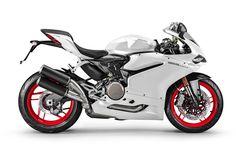 Descargar fondos de pantalla Ducati 959 Panigale, 2017, Blanco de los deportes de bicicleta, blanco Ducati, carreras de motos, Ducati