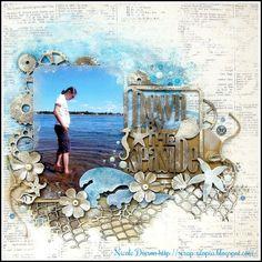 Down By The Seaside (scrap-utopia) - Scrapbook.com
