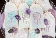 Dreamcatcher Wedding Favors // Boho Glam Wedding Ideas via TheELD.com Wedding Favors, Wedding Ideas, Bridesmaid Gifts, Dream Catcher, Bohemian, Gift Ideas, Elegant, Detail, Purple