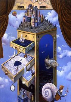 Magical Realism   Magical Realism – Surrealistic Paintings by Tomek Setowski from ...