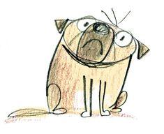 grumpy little dog by fred blunt