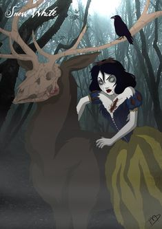 snow white and the evil queen fan art | Twisted Snow White by Kasami-Sensei on deviantART
