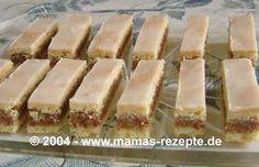 Rezept Zitronen - Nuss - Schnitten auf Mamas Rezepte Homepage