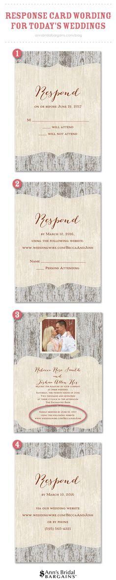 10 Best RSVP Wording images Wedding paper, Wedding rsvp, Invitations