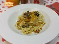 Tagliatelle con Bottarga e Pistacchi - Anna e la sua Cucina