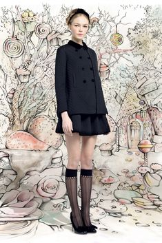 Red Valentino Fall 2013 Ready-to-Wear Collection Photos - Vogue