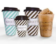 Noisette Gourmet Coffee Shop (Mexico City) Coffee (to go) Cups